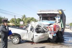 อุบัติเหตุทางรถยนต์ที่เกิดขึ้นบ่อย