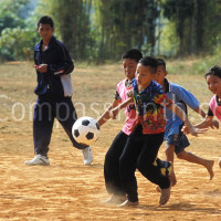 Children-play football
